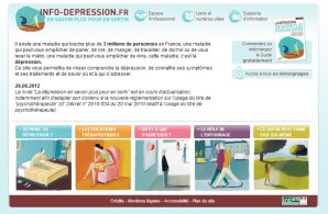 Info depression - INPES
